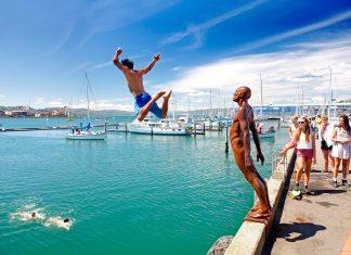 skok do vody novy zeland